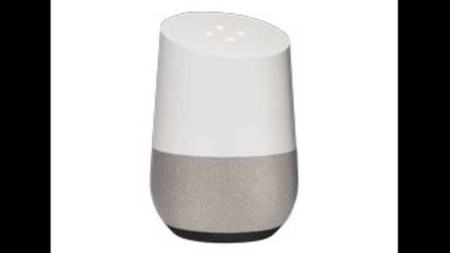 Google Home or Amazon Echo