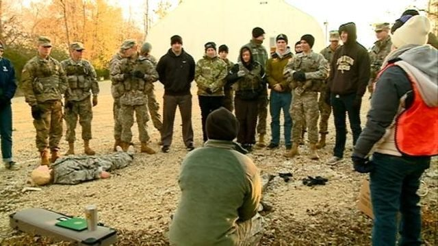 Local ROTC cadets train for future Army careers
