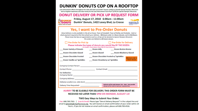 La Crosse Police are preparing for 'Cop on a Rooftop'