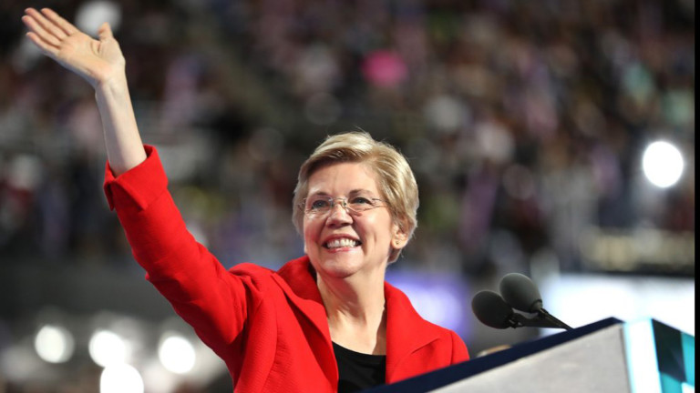 Democrat: U.S. Sen. Elizabeth Warren of Massachusetts announced on Dec. 31, 2018, she would form an exploratory committee. She announced Feb. 9, 29109, that she was officially entering the race.