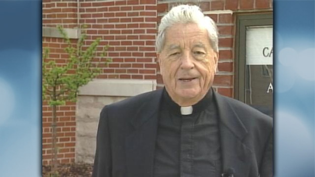 File photo of Monsignor McGarty from 2005