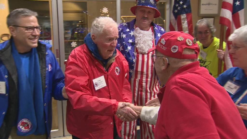 'Unbelievably moving': Special Honor Flight sends veterans with dementia, terminal illness to D.C.