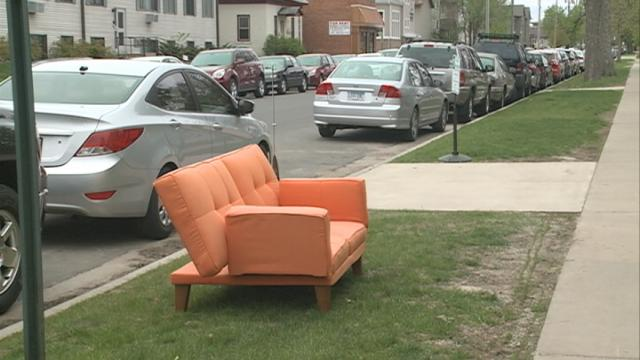 Get rid of old furniture with La Crosse large item collection