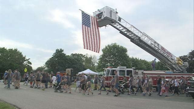 Area run/walk raises awareness and support to prevent veteran suicides