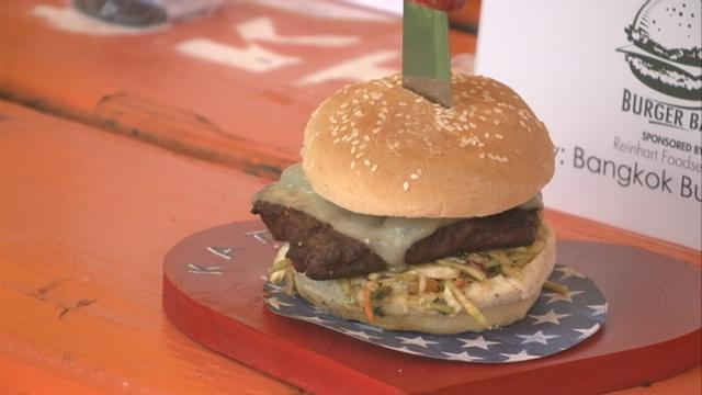 Chefs at Riverfest offer up some of the region's best burgers during Burger Bash