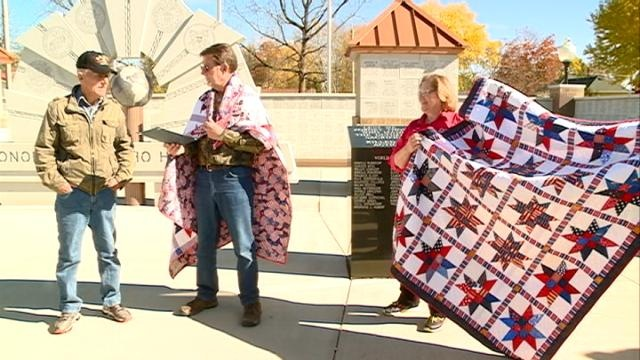 Tomah veterans presented with Quilts of Valor