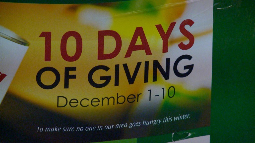 Donations out pace previous year for Winona's '10 Days of Giving'