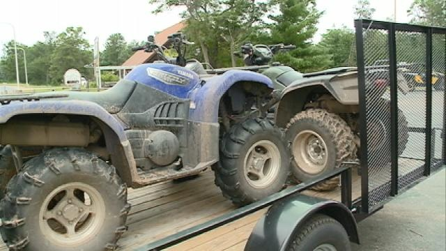 ATV safety education in Jackson Country
