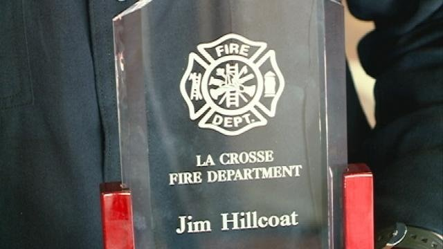 La Crosse Fire Lt. Jim Hillcoat named 'Firefighter of the Year'