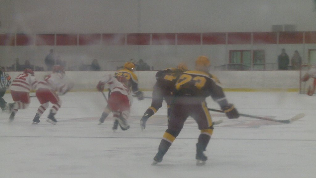 Saint Mary's women's hockey uses late third period goal to edge Concordia College