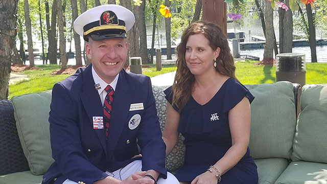 Riverfest announces 2018 Commodore and First Mate