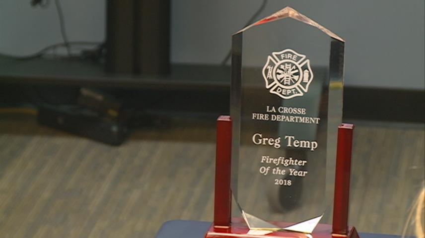 La Crosse's 'Firefighter of the Year' honored