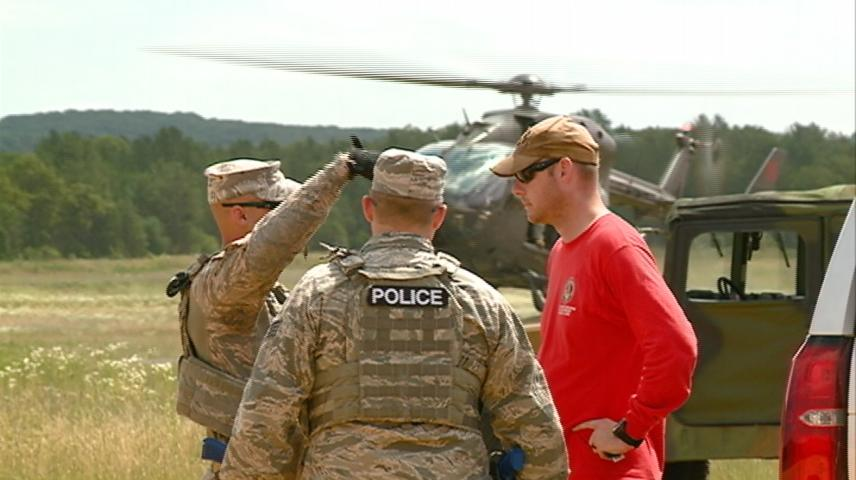 'Patriot North' disaster training continues at Fort McCoy, Volk Field