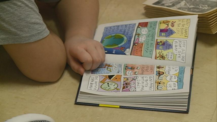 'Read Across America' has students embracing reading