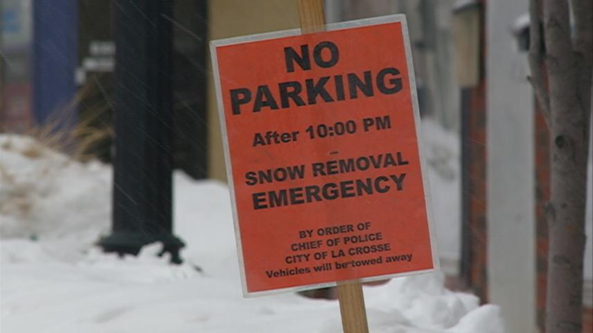 Snow clearing efforts underway for La Crosse
