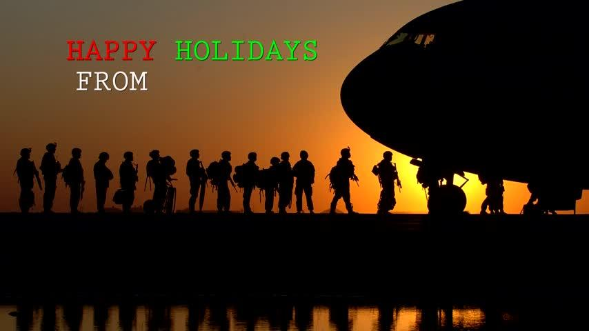 Midwestern military members deliver holiday greetings