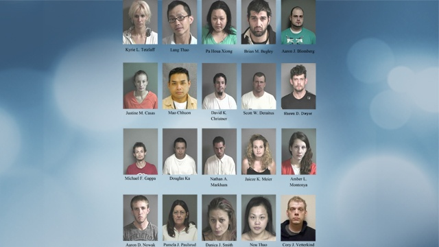 Area meth investigation leads to 3 federal indictments, 17 additional arrests