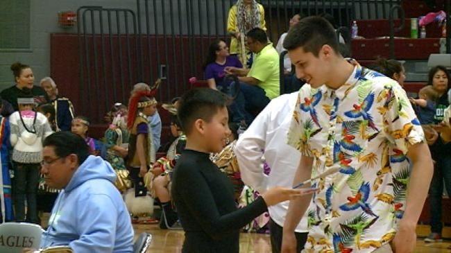 Koenig Celebrates Native American Hertiage at Local Pow-Wow