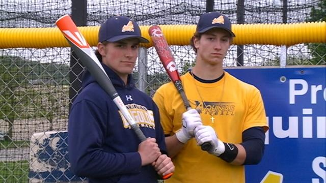 Aquinas baseball unbeaten, unsatisfied