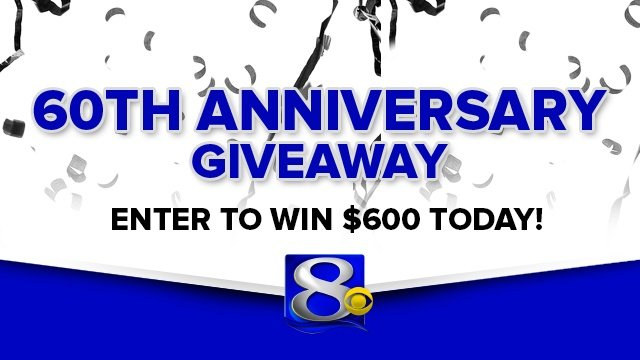 WKBT News 8 to give away $600 in anniversary contest
