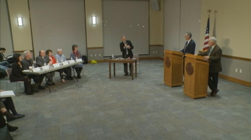 Candidates looking to replace retiring State Rep. Nerison debate the issues