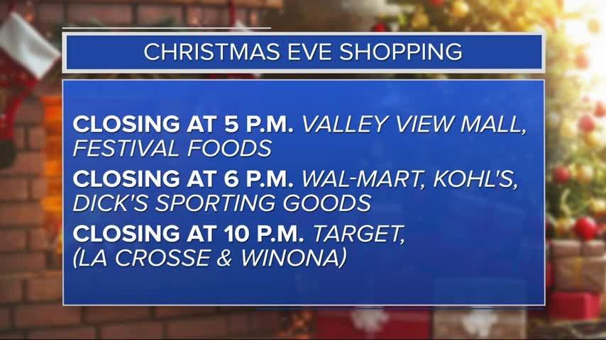 Local shoppers rush to get last minute gifts
