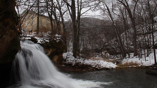 Pickwick Mill waterfalls