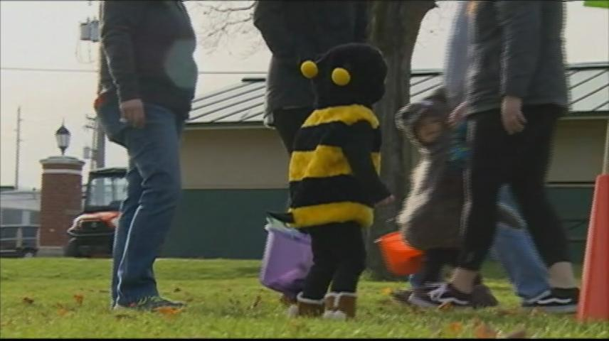 West Salem businesses, organizations take part in 'Trunk-or-Treat'