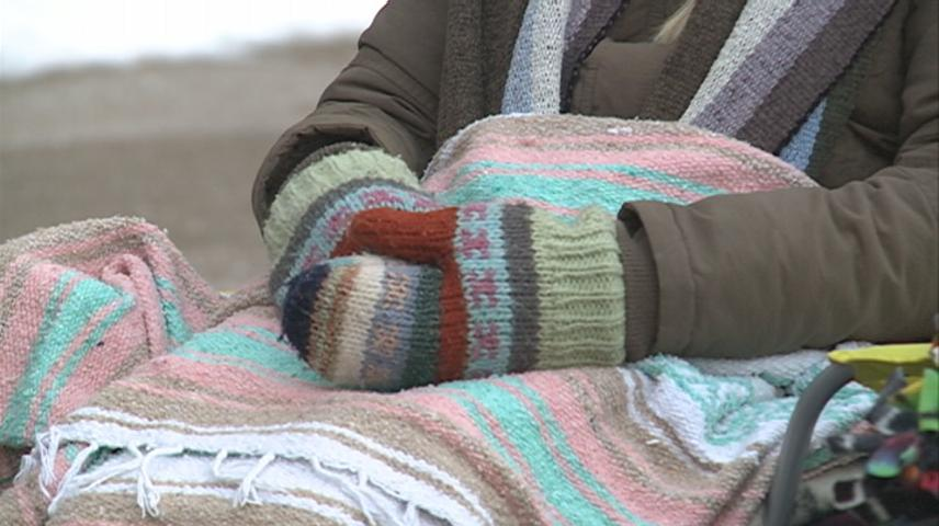 Viterbo University students spend night outdoors to learn the struggles of the homeless