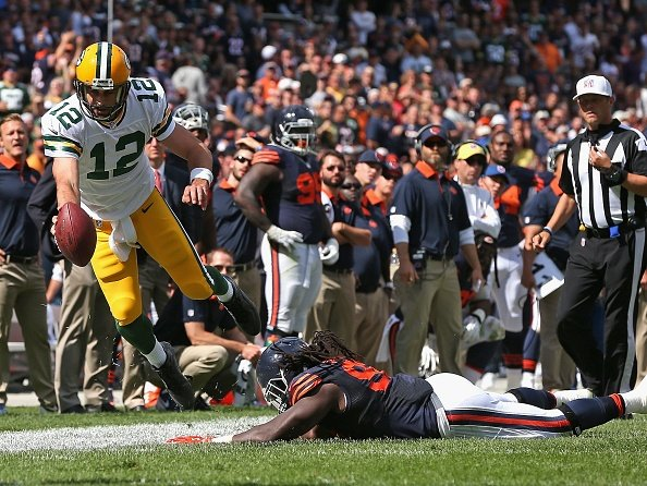 Wilde's 3-and-out: Packers 31, Bears 23