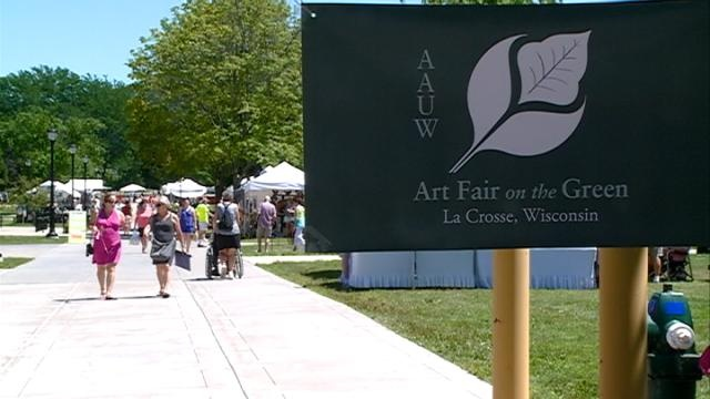 Art Fair on the Green raises money for women trying to attend college