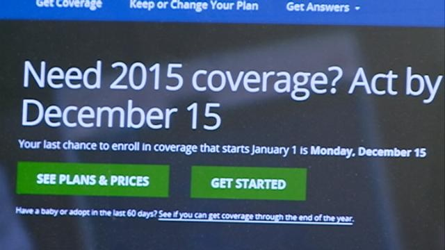 Marketplace health care sign up deadline Monday