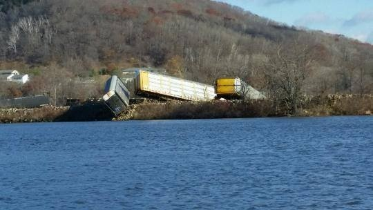Alma tracks to be open Monday evening after derailment