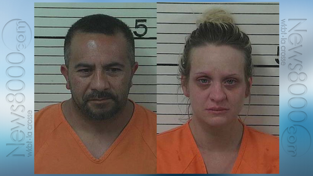 2 arrested for stolen property, drugs after confrontation with police