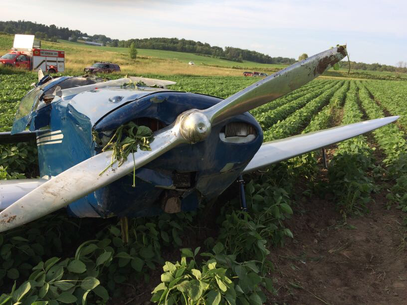 Pilot, co-pilot seriously injured in Viroqua plane crash