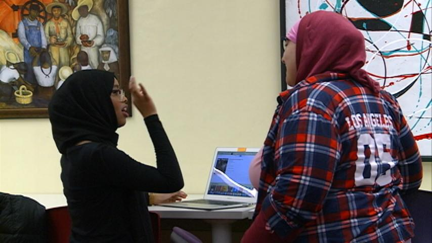 Muslim students, community members hope to spread message of unity