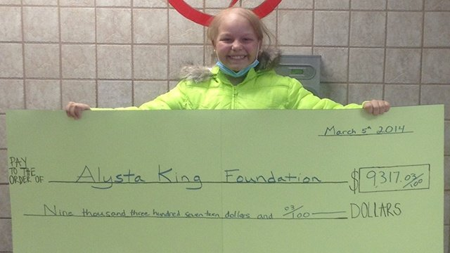 'Coaches v Cancer' raises $9,317 for local girl