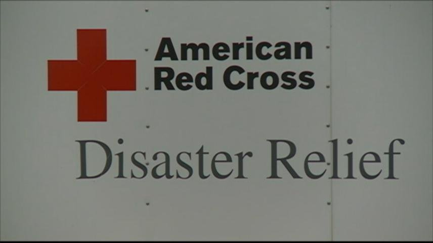 American Red Cross sets up temporary shelter in Arcadia for people displaced by flooding