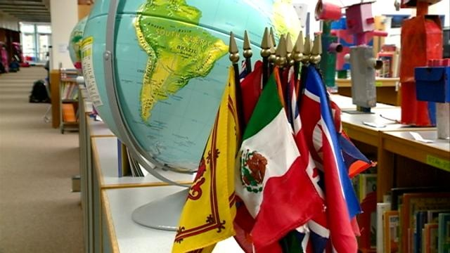 Assignment: Education – International interns bring culture to the classroom