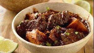 Red-Eye and Ancho-Spiced Beef Stews
