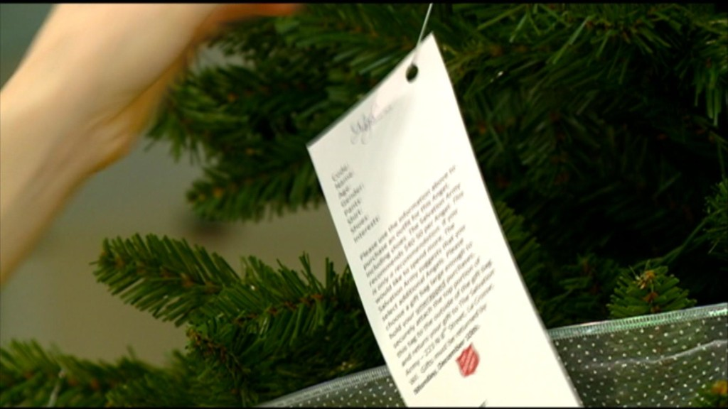 Final registration event for Angel Giving Tree in La Crosse County