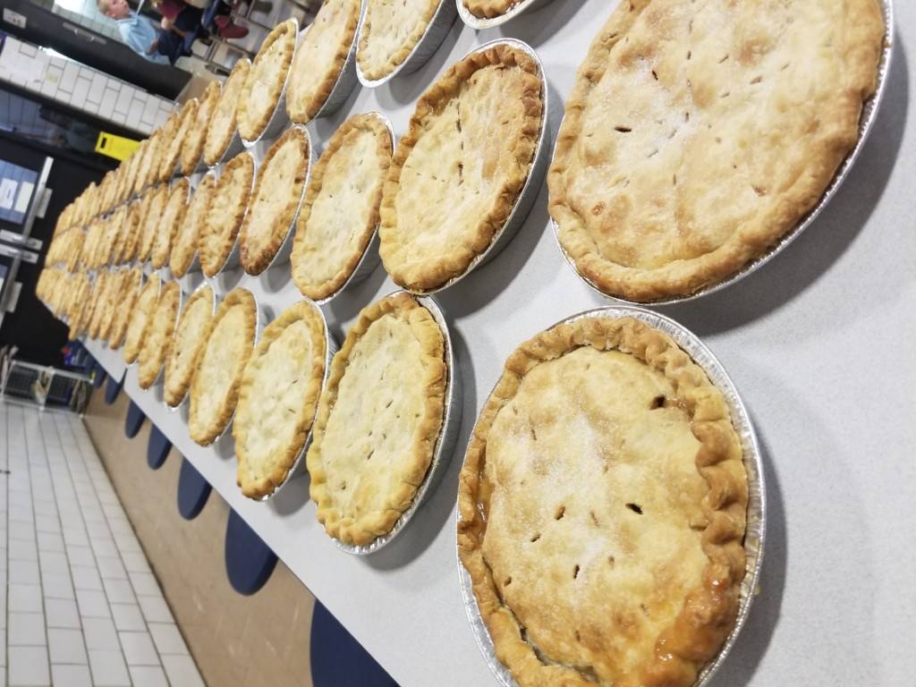 400 Apple Pies made for festival this weekend