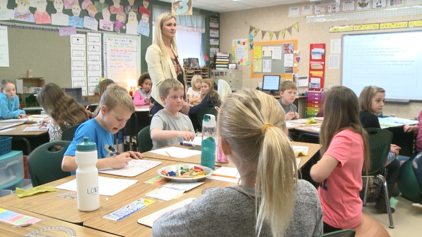 April's Top Notch Teacher: Holmen's Chastity Casey
