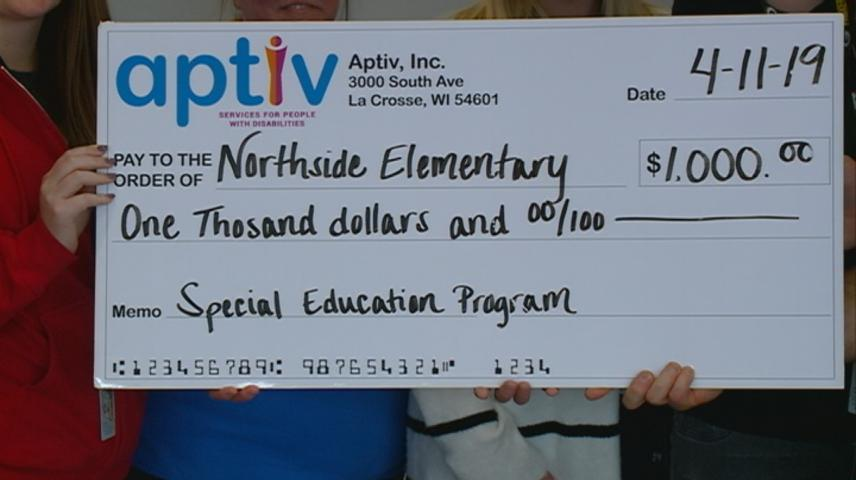 Special education donation from Aptiv's Game On! fundraiser