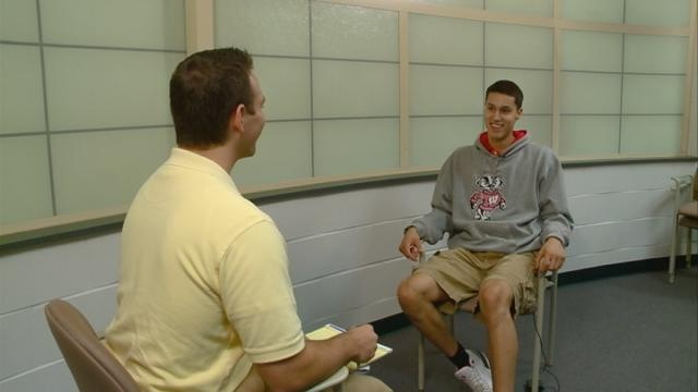 Aquinas' Koenig Talks About Committing to Wisconsin
