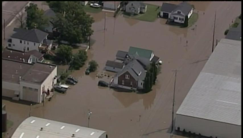 Arcadia flooding evacuates homes, keeps thousands of employees from work