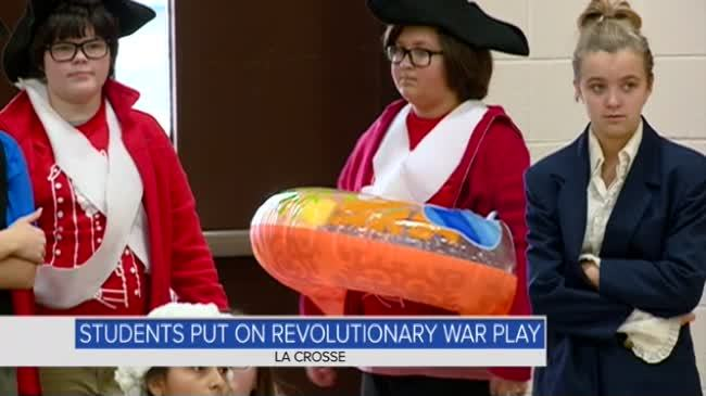 Students give lesson on American Revolution in '40 Minutes or Less'