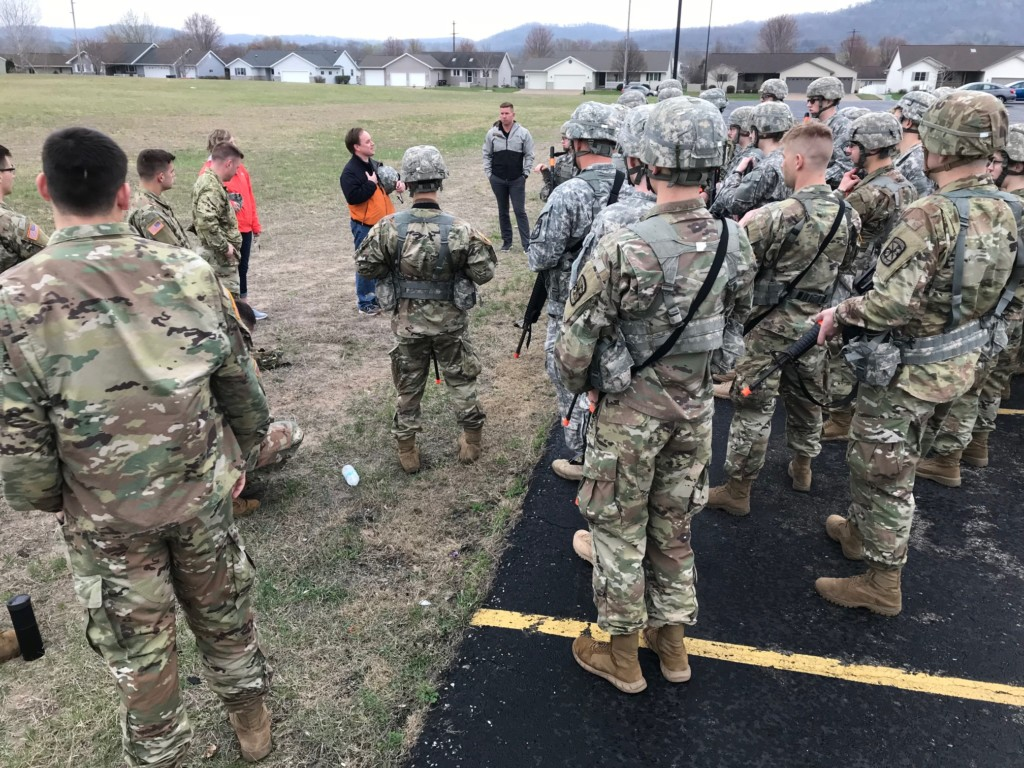 Black Hawk helicopters touch down in Onalaska for training exercise