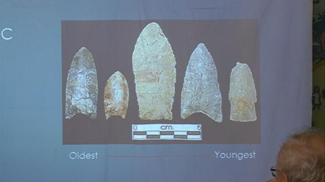 People of Spring Grove learn about ancient artifacts from our area