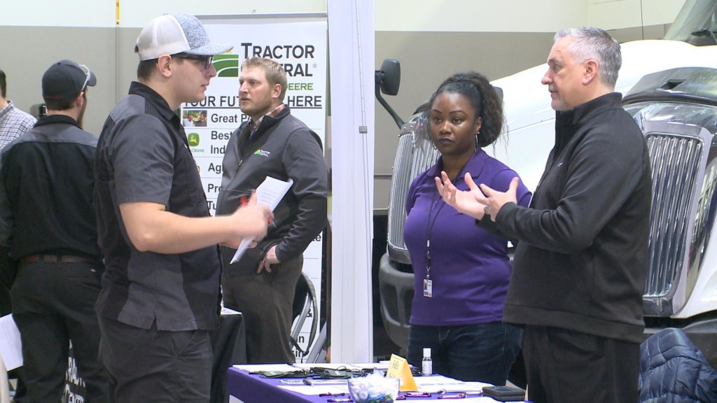 Students explore career opportunities at Auto and Diesel Career Fair in La Crosse